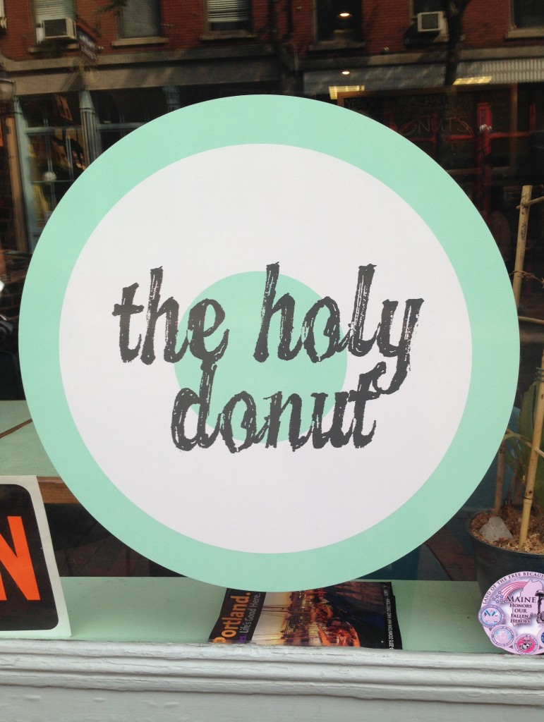 Holy Donut Sign