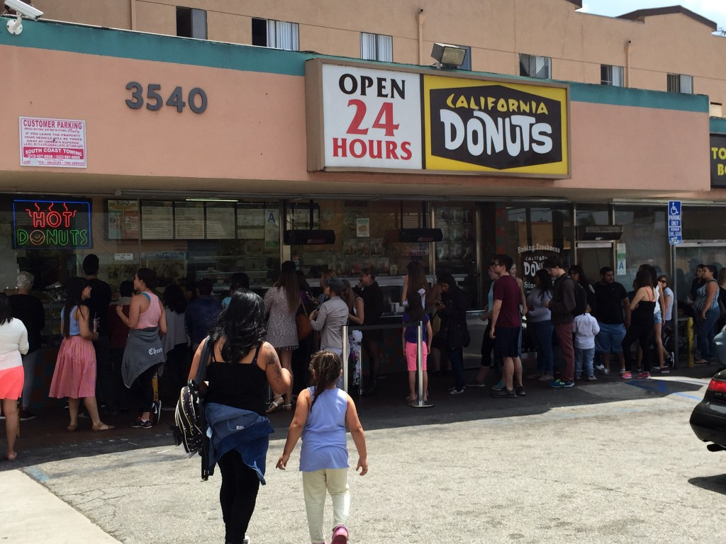CA Donuts Line 1